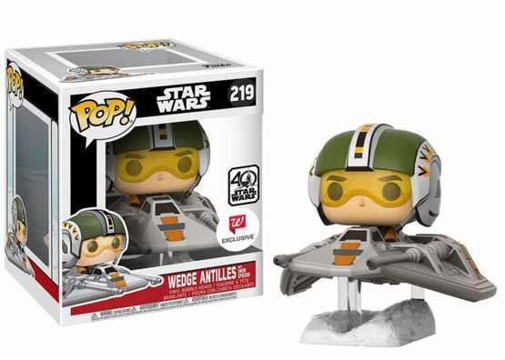 #219 - Wedge Antilles with Snow Speeder | Popito.fr