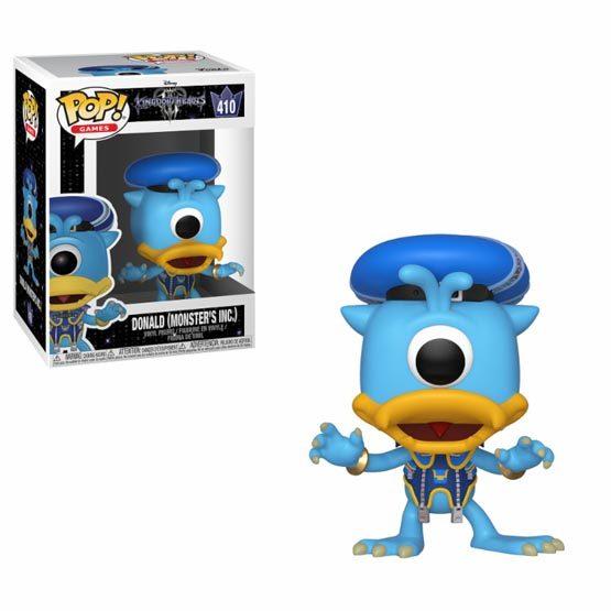 #410 - Kingdom Hearts 3 - Donald (Monsters Inc) | Popito.fr