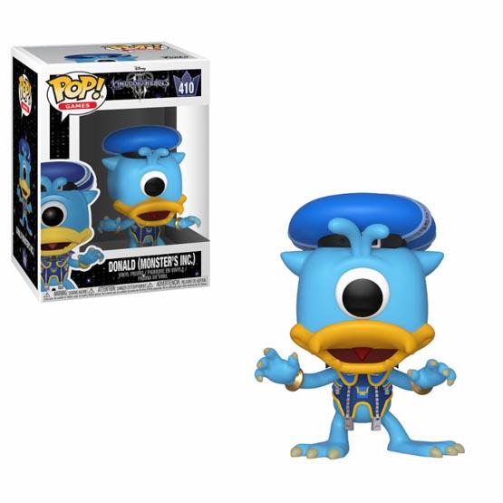 #410 - Kingdom Hearts 3 - Donald (Monsters Inc)   Popito.fr