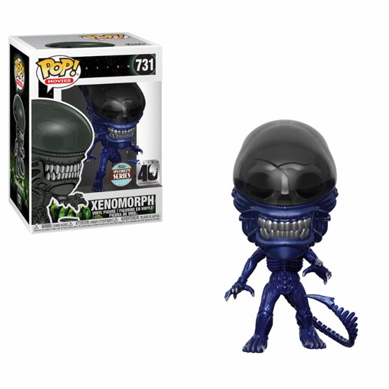 #731 - Alien - Xenomorph (blue metallic)   Popito.fr