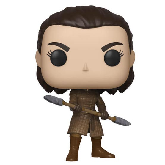 #XXX - Arya Stark with spear | Popito.fr