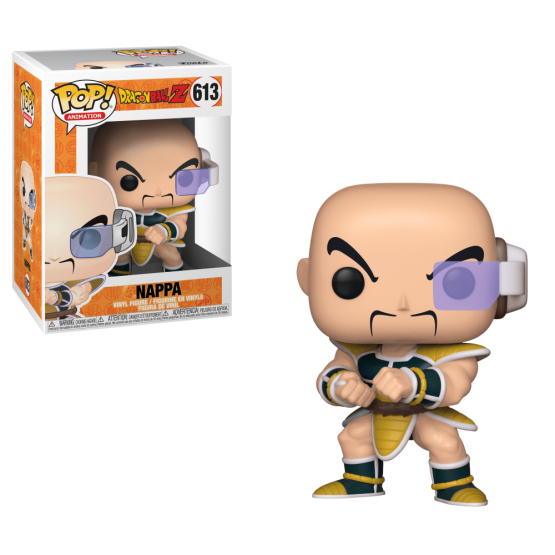#613 - Dragon Ball Z - Nappa | Popito.fr