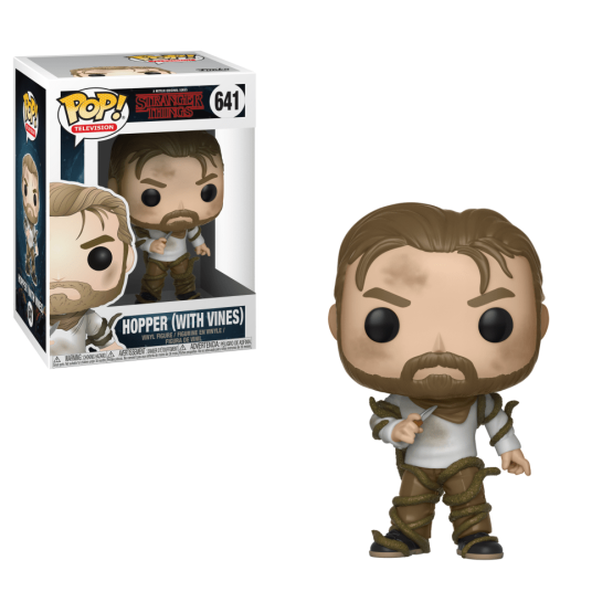 #641 - Stranger Things - Hopper (with vines) | Popito.fr