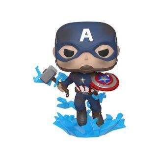 #573 - Avengers: Endgame - Captain America with broken shield and Mjolnir | Popito.fr
