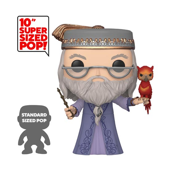 #110 - Albus Dumbledore with Fawkes (giant) | Popito.fr