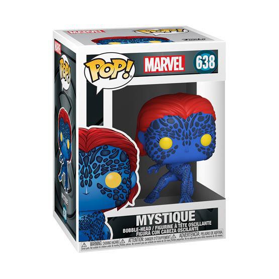 #638 - X-Men - Mystique   Popito.fr