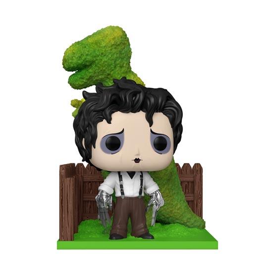 #985 - Edward Scissorhands - Edward with dinosaur shrub | Popito.fr
