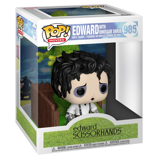 #985 - Edward Scissorhands - Edward with dinosaur shrub | Popito.fr