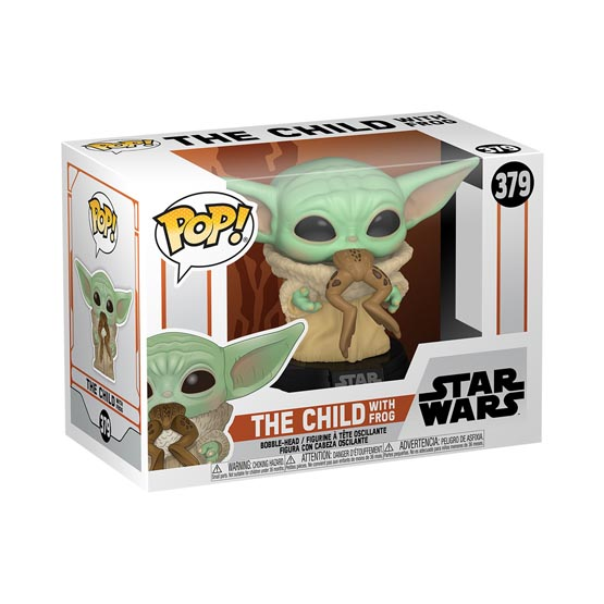 #379 - The Mandalorian - The Child with frog (Baby Yoda) | Popito.fr