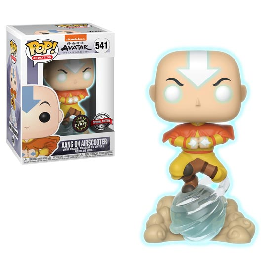 #541 - Avatar: The Last Airbender - Aang with airscooter (Chase 1/6) | Popito.fr