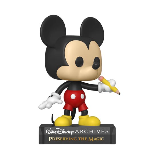 #798 - Disney Archives - Classic Mickey | Popito.fr