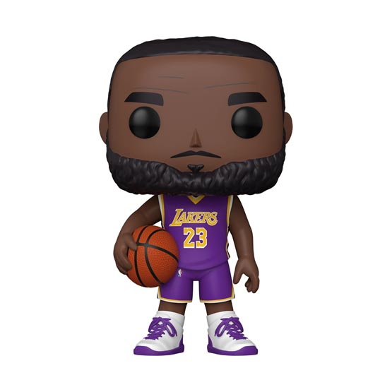 #XXX - NBA - Los Angeles Lakers - LeBron James (purple jersey) (giant) | Popito.fr
