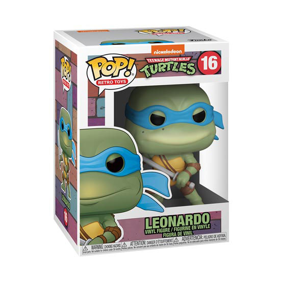 #016 - Teenage Mutant Ninja Turtles - Leonardo | Popito.fr