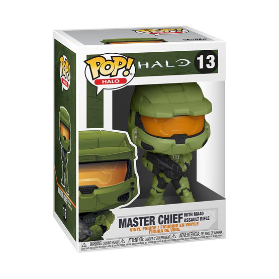 #013 - Halo - Master Chief with MA40 assault rifle | Popito.fr