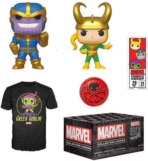 Box - Marvel Collector Corps - 80th Anniversary | Popito.fr