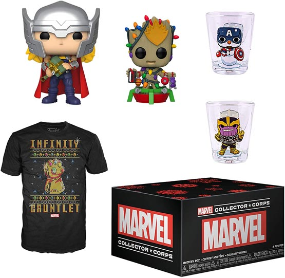 Box - Marvel Collector Corps - Christmas | Popito.fr