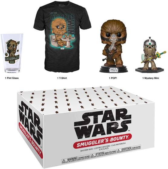 Box - Smuggler's Bounty - Wookie (t-shirt taille L)   Popito.fr