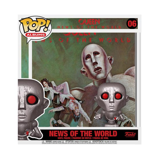 #006 - Queen - News of the World | Popito.fr
