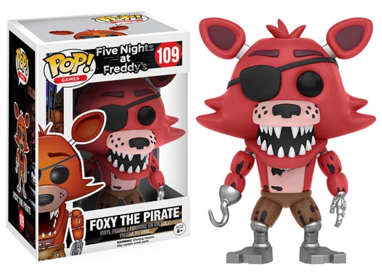 #109 - Five Nights at Freddy's - Foxy the Pirate | Popito.fr