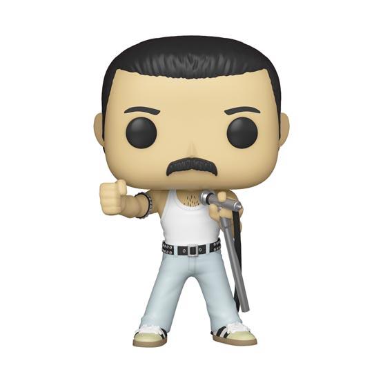 #183 - Queen - Freddie Mercury (Live Aid 1985) | Popito.fr