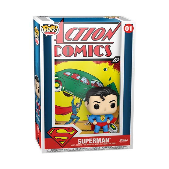 #001 - Superman - Superman (Action Comics) | Popito.fr