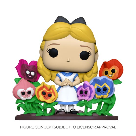 #XXX - Alice in Wonderland - Alice with flowers | Popito.fr
