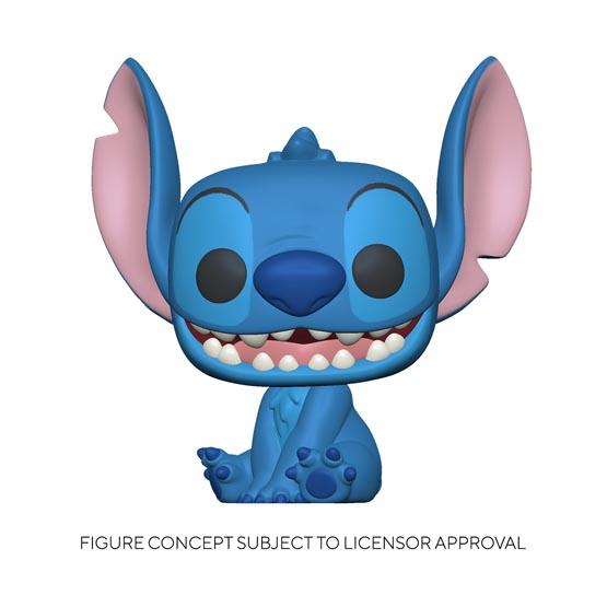 #XXX - Lilo and Stitch - Smiling seated Stitch | Popito.fr