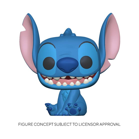 #XXX - Lilo and Stitch - Smiling seated Stitch (giant) | Popito.fr