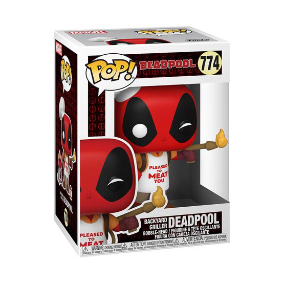#774 - Deadpool - Backyard Griller Deadpool | Popito.fr