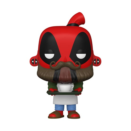 #775 - Deadpool - Barista Deadpool | Popito.fr