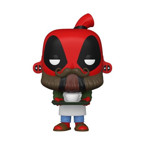 #775 - Deadpool - Barista Deadpool | Popito.fr