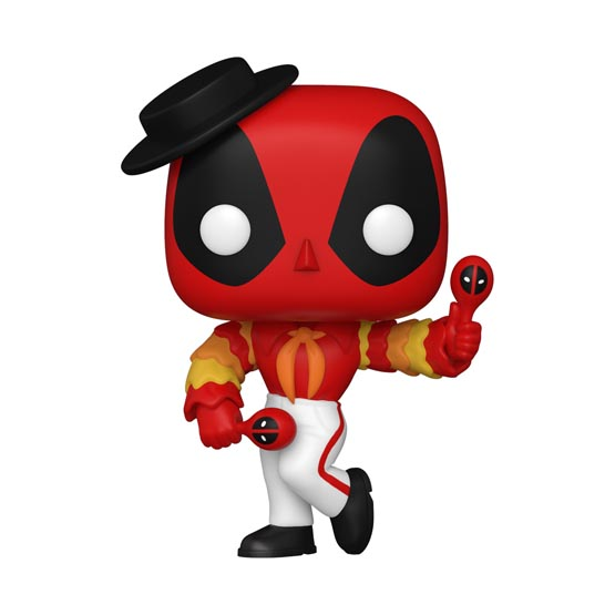 #778 - Deadpool - Flamenco Deadpool | Popito.fr
