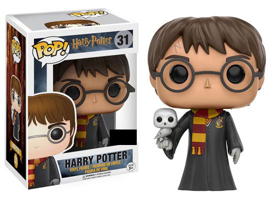 #031 - Harry Potter with Hedwig | Popito.fr