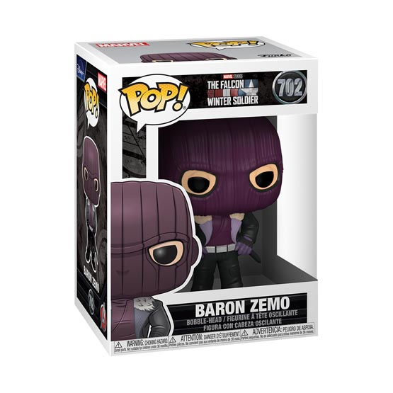 #702 - The Falcon and the Winter Soldier - Baron Zemo | Popito.fr