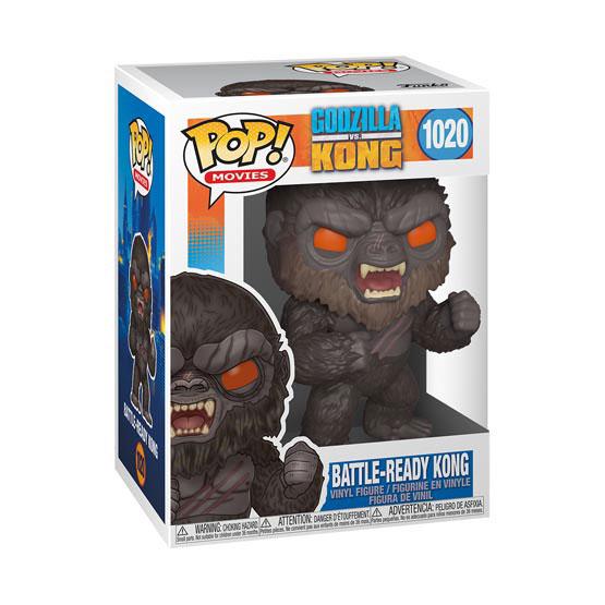 #1020 - Godzilla vs Kong - Battle-ready Kong | Popito.fr