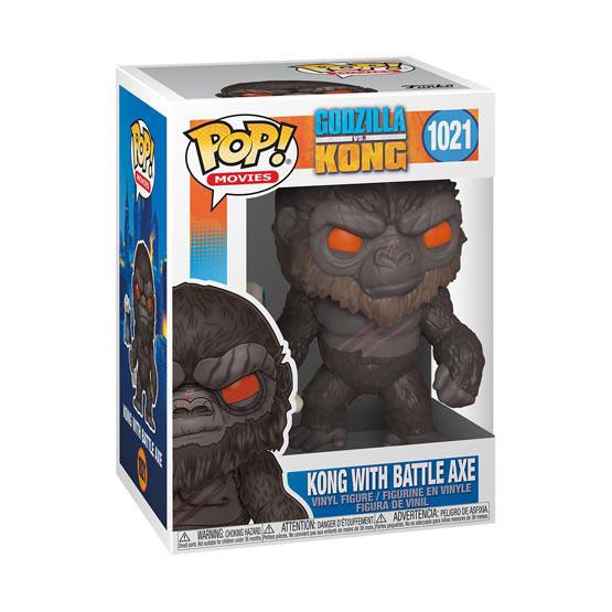 #1021 - Godzilla vs Kong - Kong with battle axe | Popito.fr