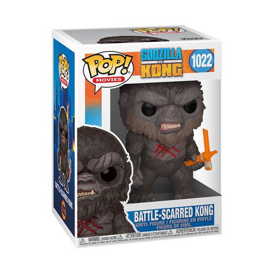 #1022 - Godzilla vs Kong - Battle-scarred Kong | Popito.fr