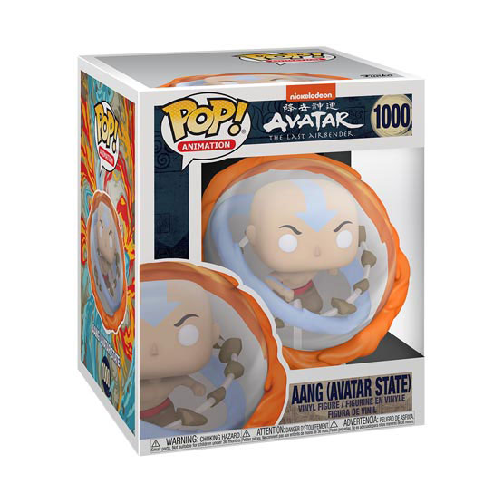 #1000 - Avatar: The Last Airbender - Aang (Avatar state) | Popito.fr
