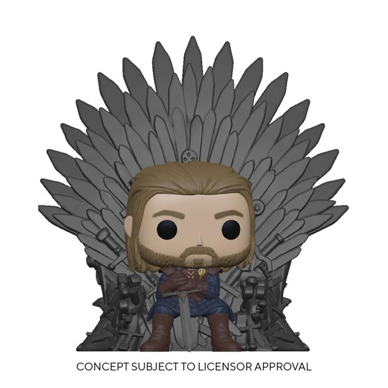#XXX - Ned Stark on throne | Popito.fr
