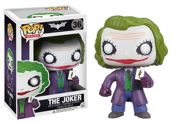 #036 - The Dark Knight Trilogy - The Joker | Popito.fr
