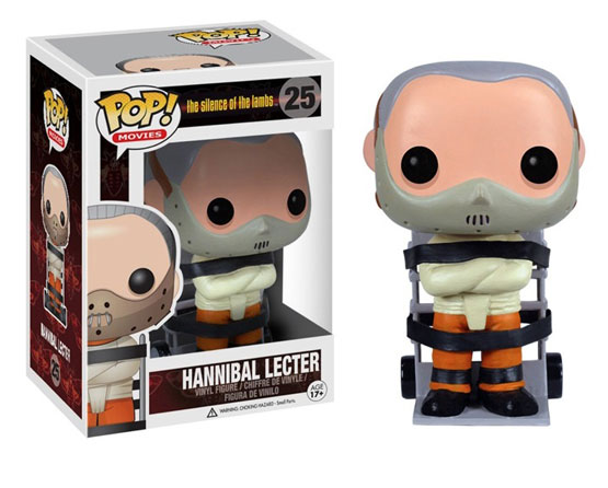 #025 - Silence of the Lambs - Hannibal Lecter | Popito.fr