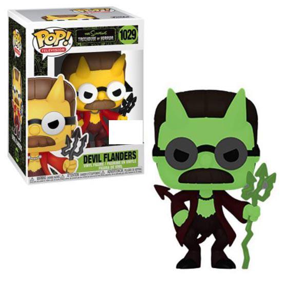 #1029 - The Simpsons - Devil Flanders (glow in the dark) | Popito.fr