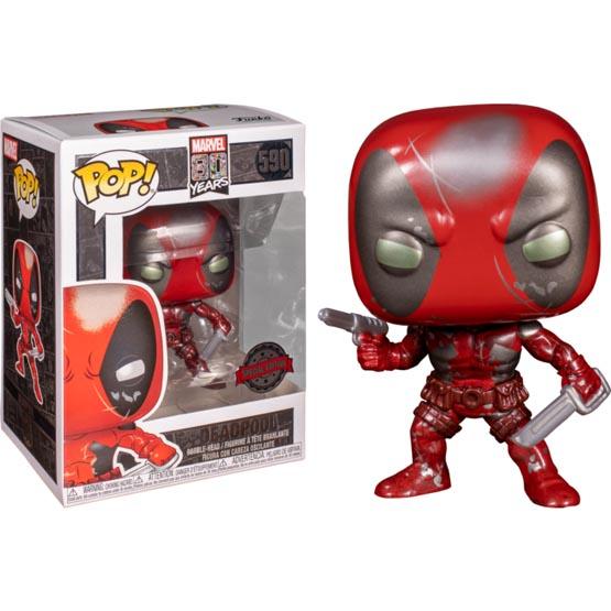#590 - Deadpool (first appearance) (metallic) | Popito.fr