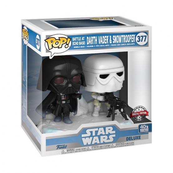 #377 - Battle at Echo Base: Darth Vader and Snowtrooper | Popito.fr