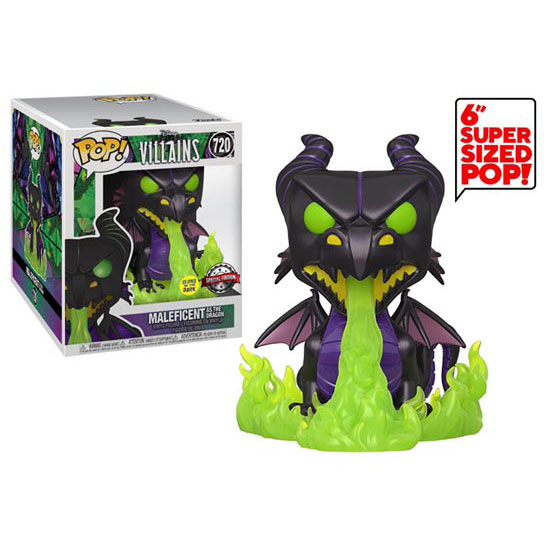 #720 - Villains - Maleficent as the Dragon (glow in the dark) | Popito.fr