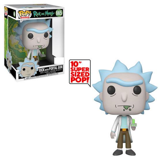 #665 - Rick and Morty - Rick with Portal Gun (giant) | Popito.fr