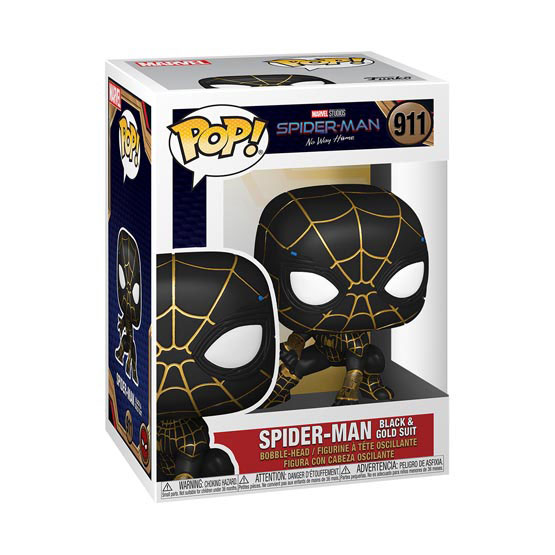 #911 - Spider-Man: No Way Home - Spider-Man (black and gold suit) | Popito.fr