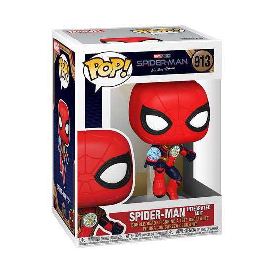 #913 - Spider Man: No Way Home - Spider Man (integrated suit) | Popito.fr