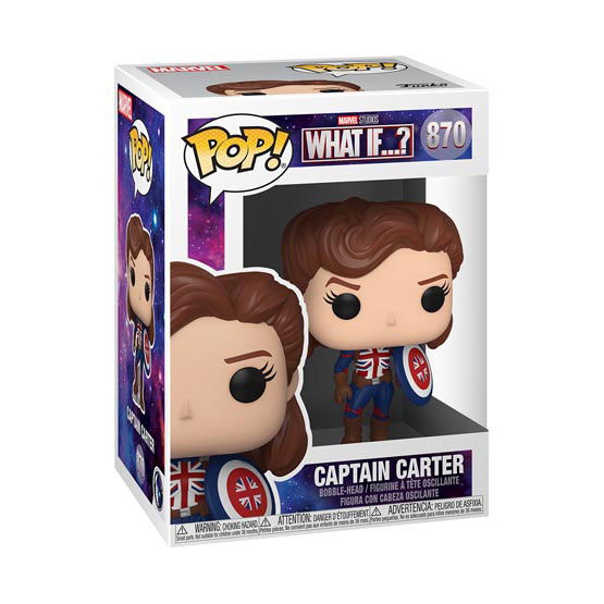 #870 - What If - Captain Carter | Popito.fr
