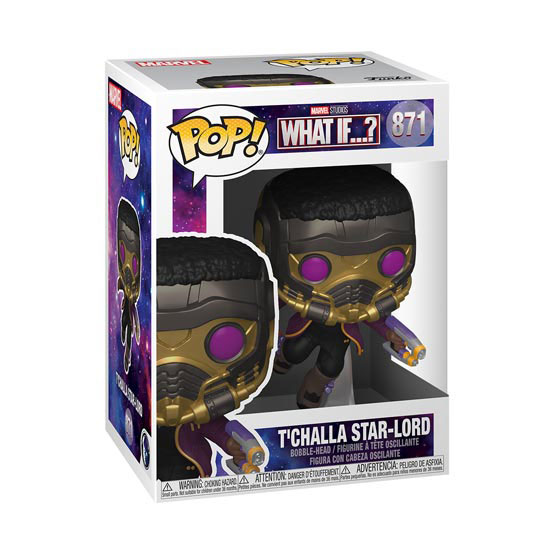 #871 - What If - T Challa Star Lord | Popito.fr